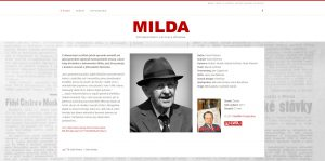 www.mildafilm.cz – WordPress