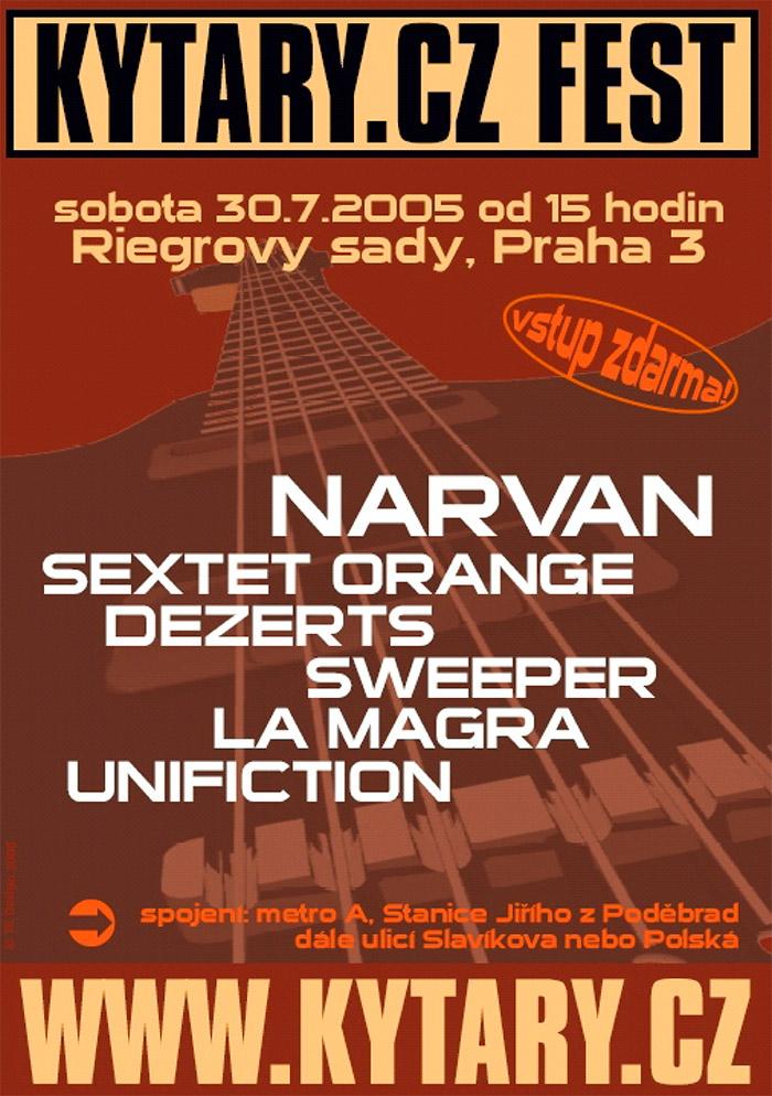 Plakát Kytary.cz fest