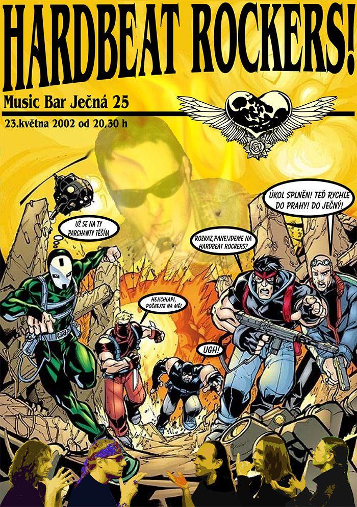 Plakát kapela Hardbeat Rockers