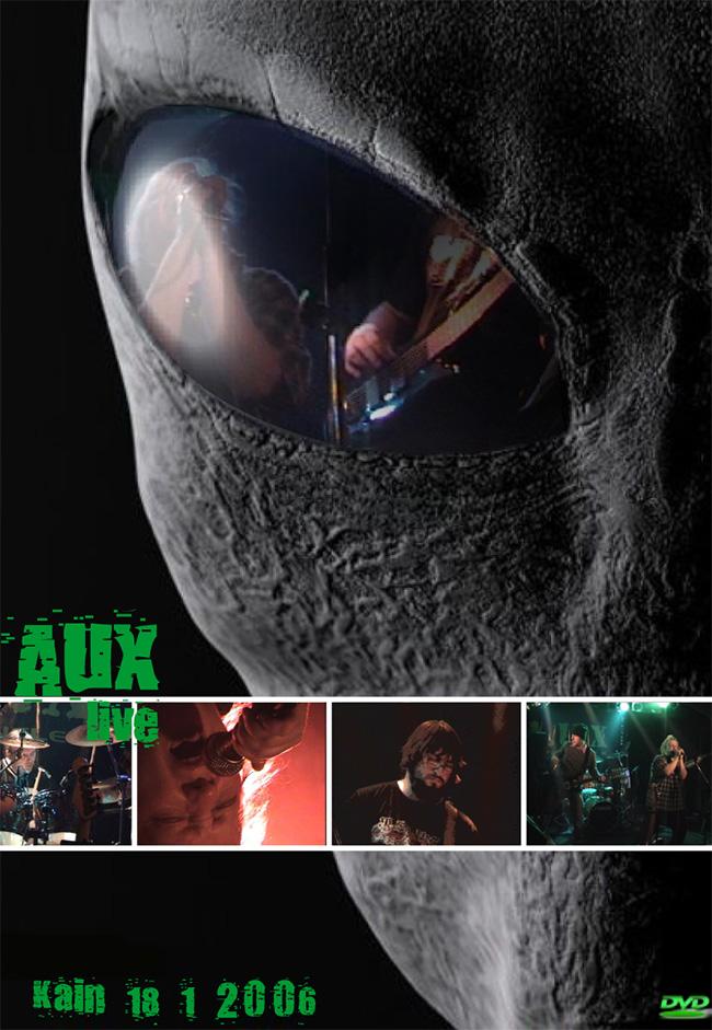Obal DVD A.U.X.