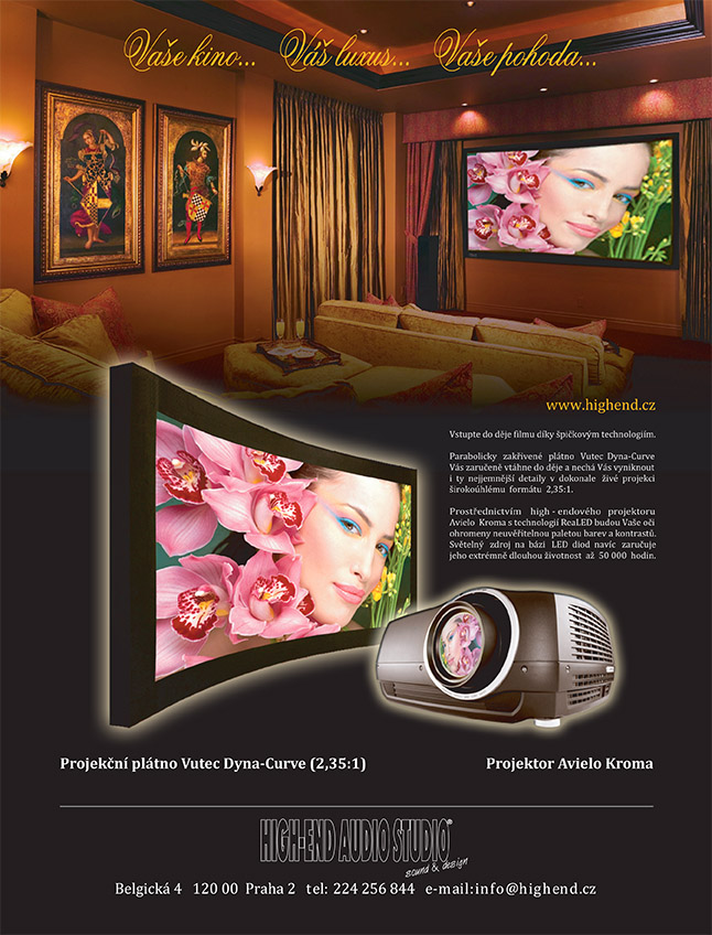 Reklama High-end audio studio