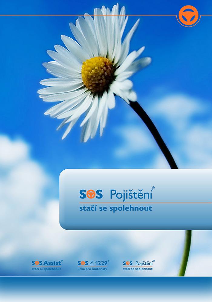 Leták SOS pojištění