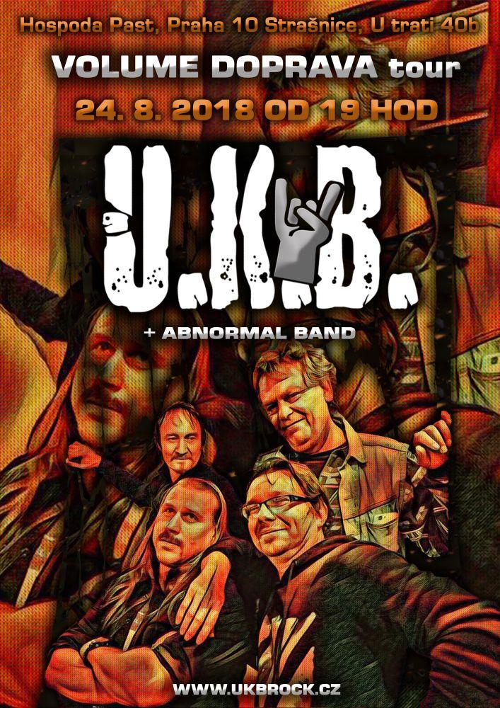 Plakát kapela U.K.B.