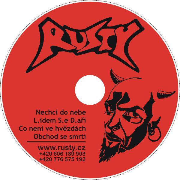 Potisk CD Rusty